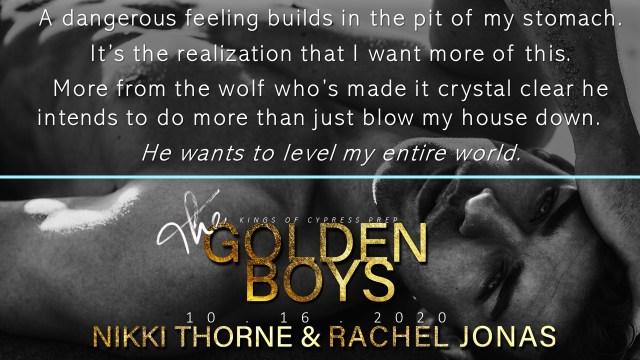 The Golden Boys by Rachel Jonas & Nikki Thorne