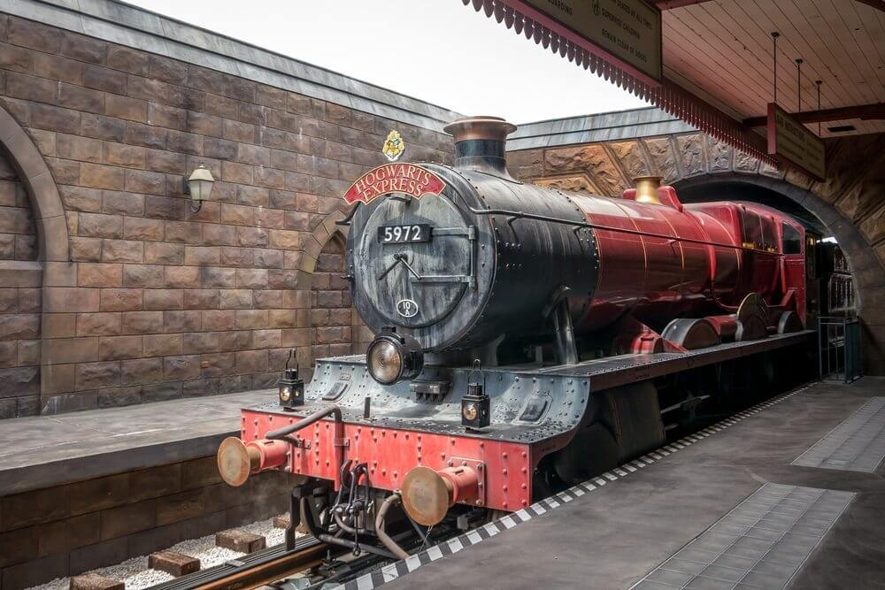 Universal Studios Orlando with a toddler Hogwarts Express