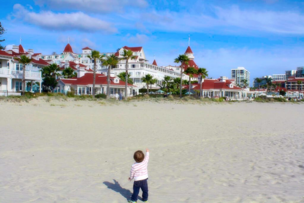 san diego with a toddler coronado island