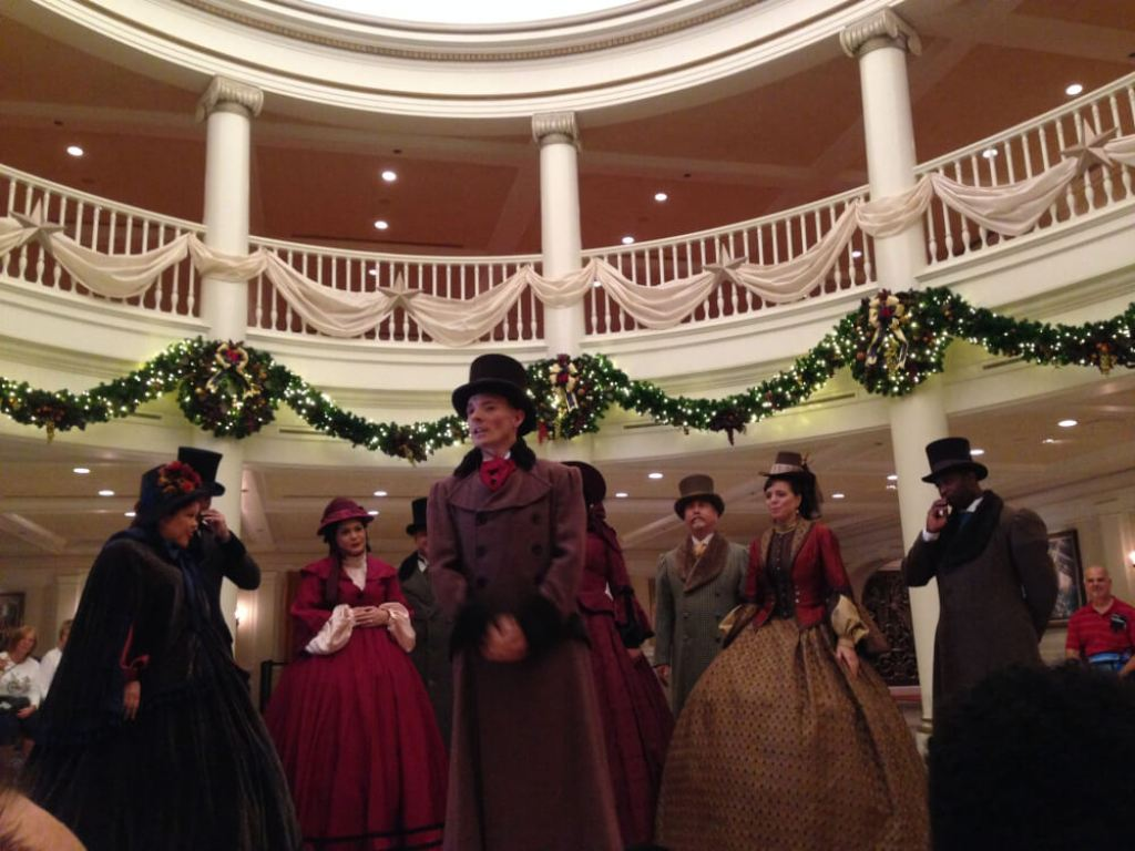 Christmas at Walt Disney World Voices of Liberty