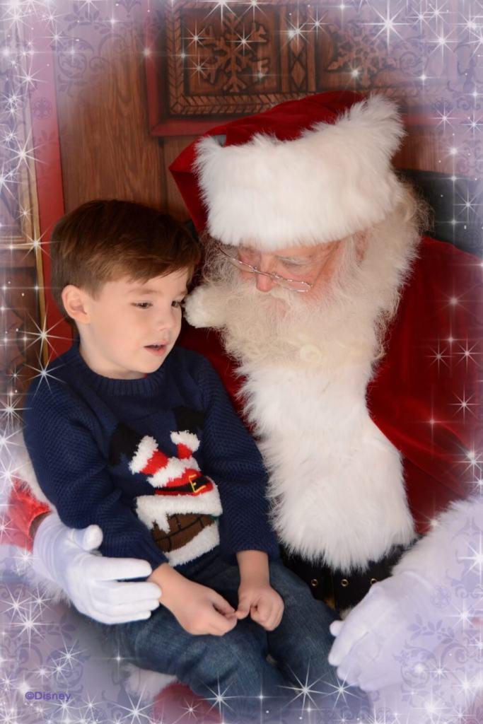 Christmas at Walt Disney World Santa Disney Springs