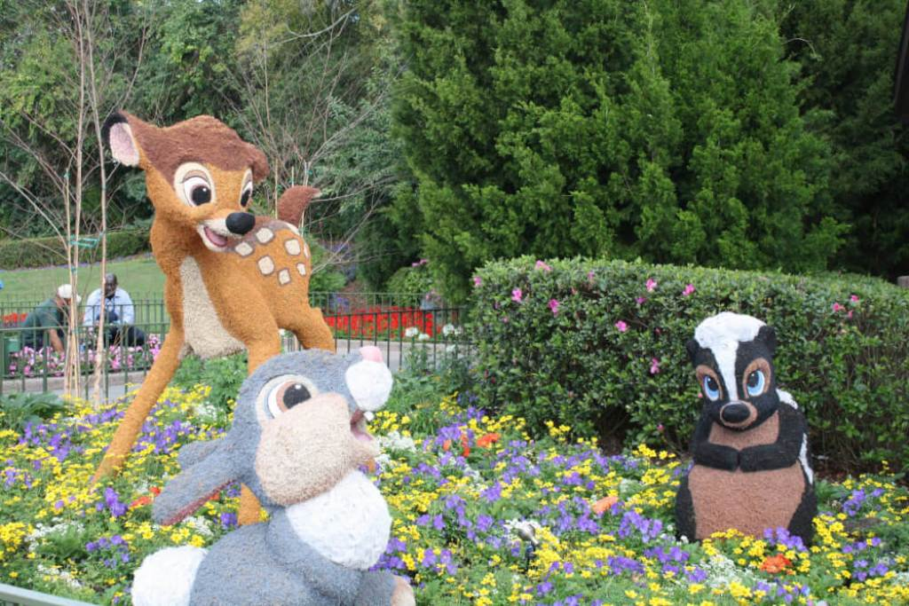 flower and garden festival with kids