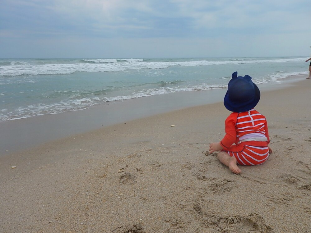 Visiting the Canaveral National Seashore with kids