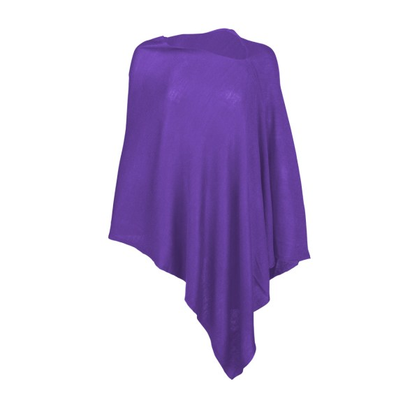 Chelsea Poncho - Purple