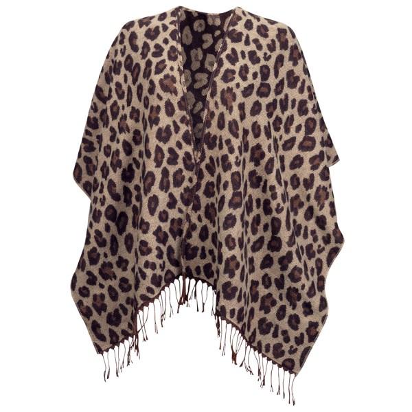 Kennedy Shawl - Leopard