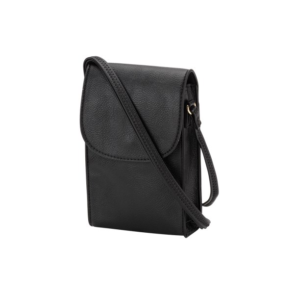 Black Laurel Phone Crossbody