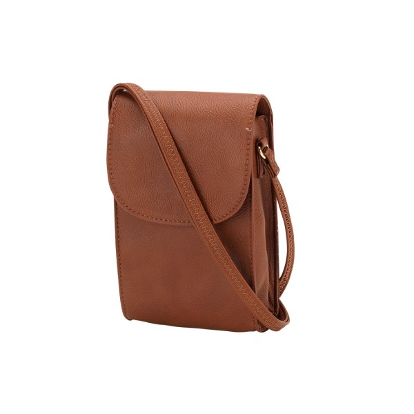 Camel Laurel Phone Crossbody