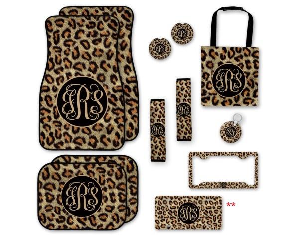 Leopard Print Fur Look