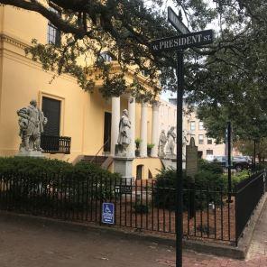 Streets in Savannah