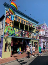 Art down the street of Provincetown