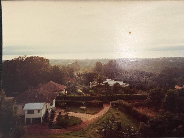 View of Lake Tanganyika from our house