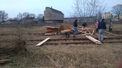 Holz vom Sägewerk