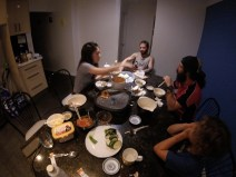 Korean Barbecue Night at the Swifts'