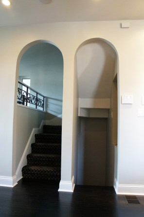 'After' view of reworked stairs