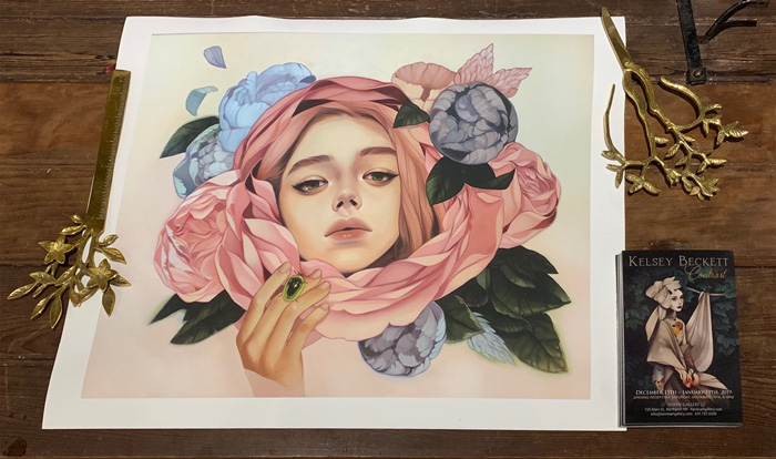 """Kelsey Beckett """"Lucious And Vicious"""" Print"""
