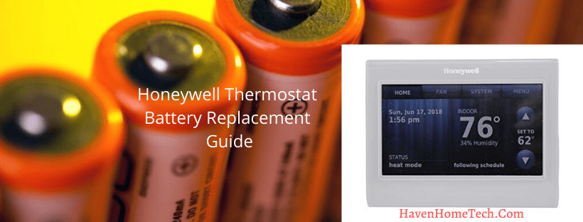 How To Change Honeywell Thermostat Battery