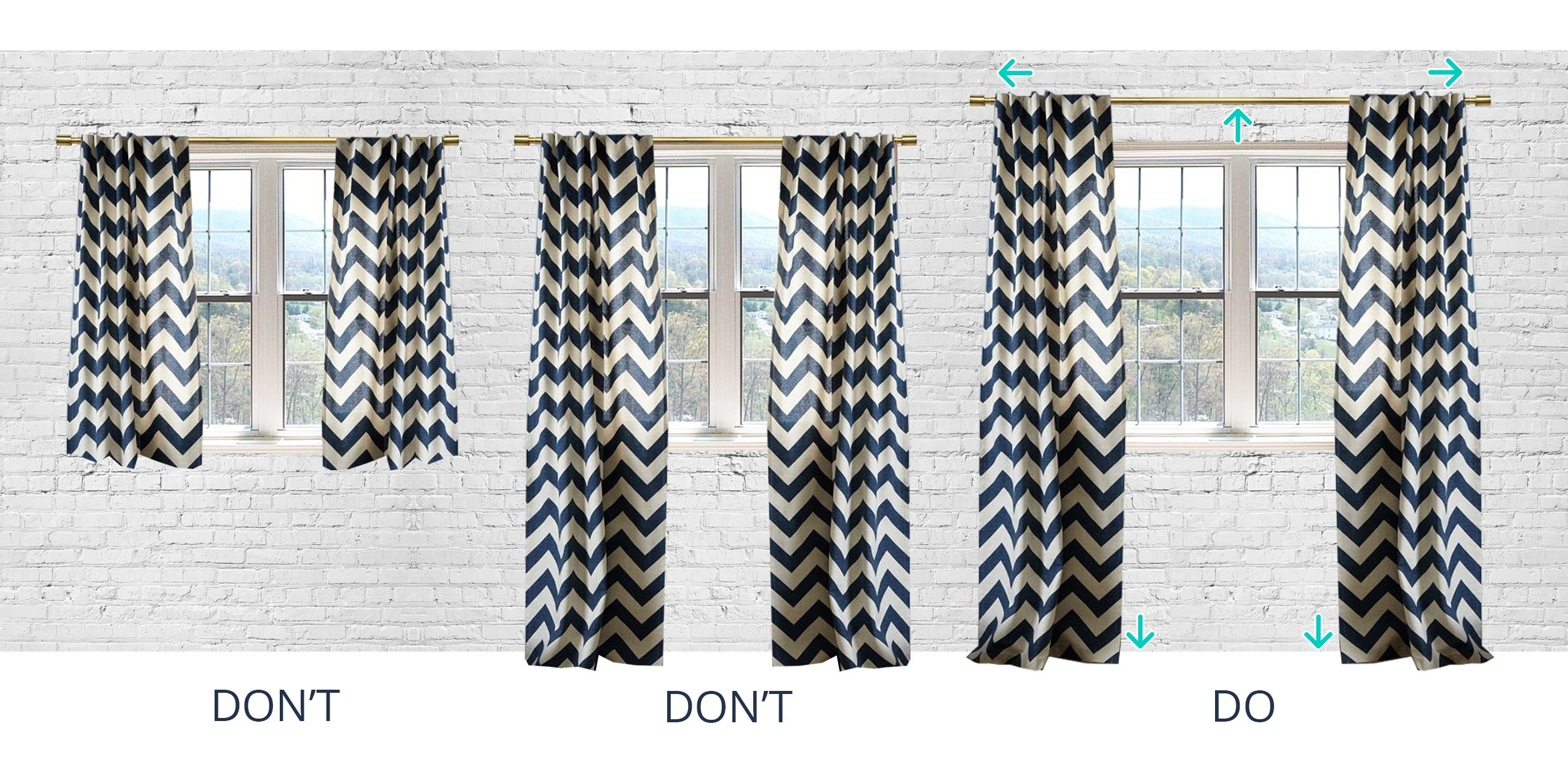 Designer Tip How to Hang Your Curtains  Havenly Hideaway