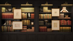 backgrounds backdrops study bookcase havenly bookshelf books meeting conferencing google night designer drive