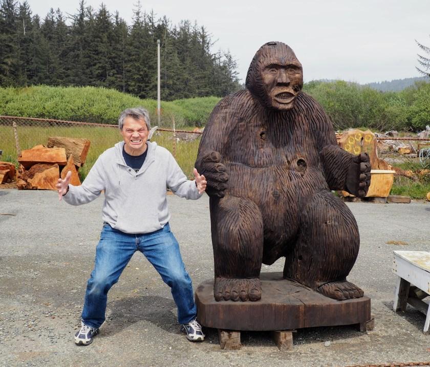 Menacing Bigfoot