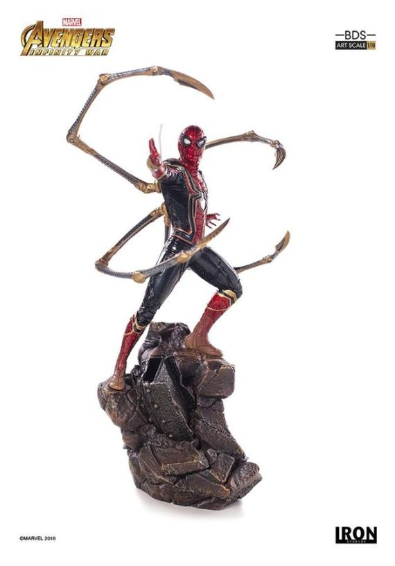 IRO73555–Avengers-3-Iron-Spider-1-10-Statue-D