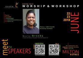 Meet the speakers - Maxine Brooks LARGE
