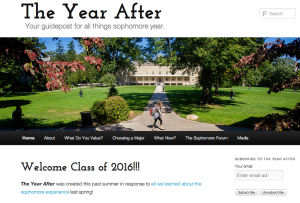 A College blog dedicated to the sophomore year experience.