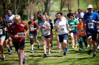 The Seventh Annual Haverford College Joe Schwartz '83 Memorial 3K Run/Walk was held on Sunday, April 27, at 12:30 p.m