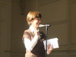 Elizabeth Enloe, Honorary Degree Committee clerk.