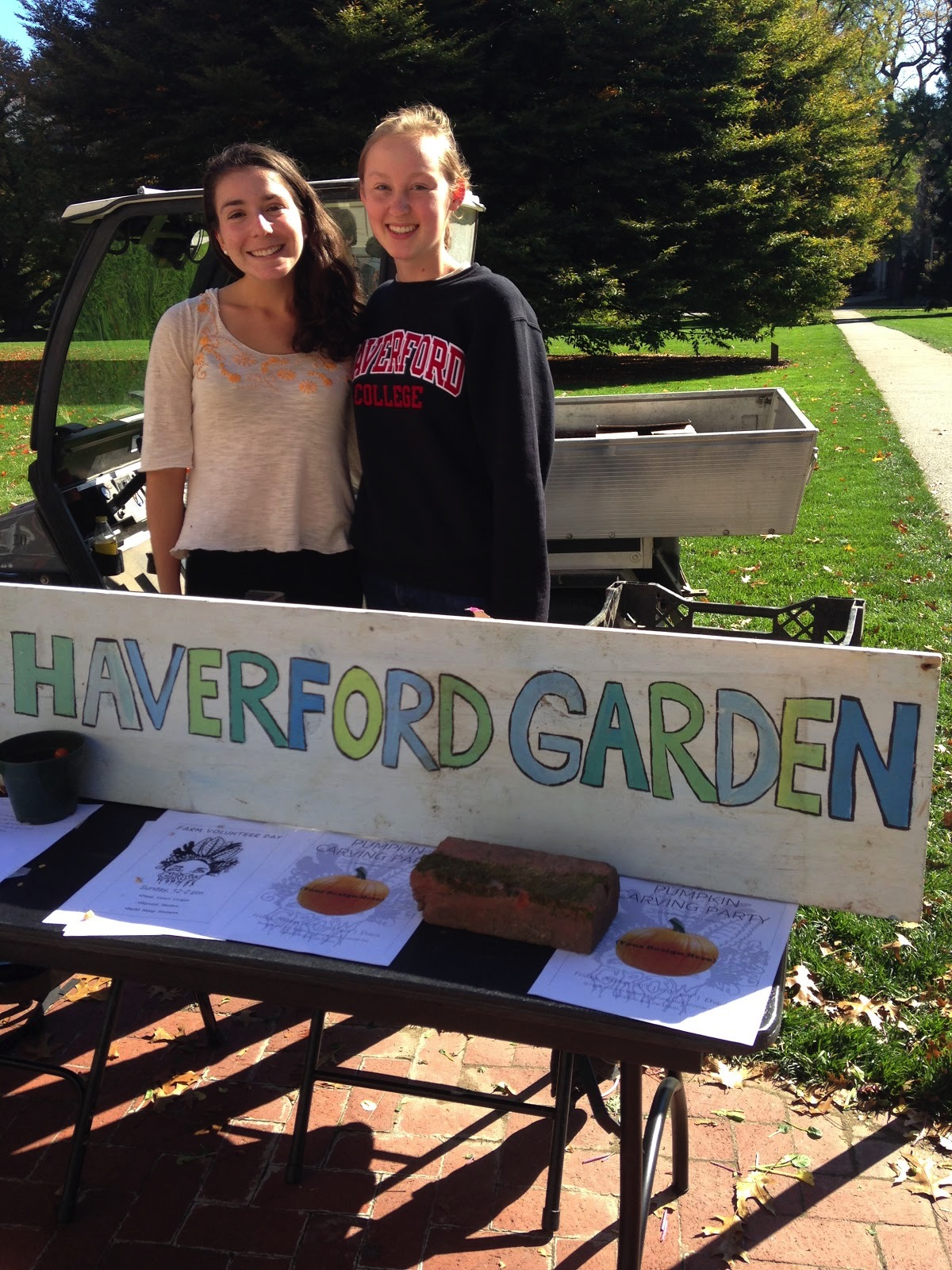 Representatives from the Haverford Garden.