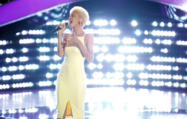 """THE VOICE -- """"Blind Auditions"""" -- Pictured: Nadjah Nicole -- (Photo by: Paul Drinkwater/NBC)"""