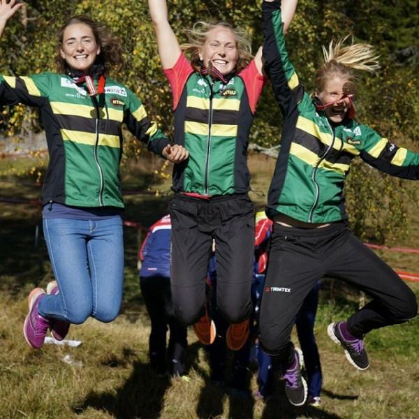 Bronse på NM stafett med @linnhokholt og @ematildaj! Herlig måte å avslutte sesongen på.