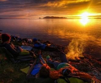 Mer enn fjordgløtt på helgas overnattingsplass. Takk for tipset @victoria.skram!
