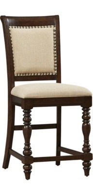 upholstered counter height chair oviedo leather welcome home find the perfect main image