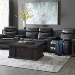 Sierra Red Living Room Sectional 8 Piece Furniture Set Sofas In Leather Brown Beige More Havertys N