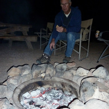Chuck at firepit 2