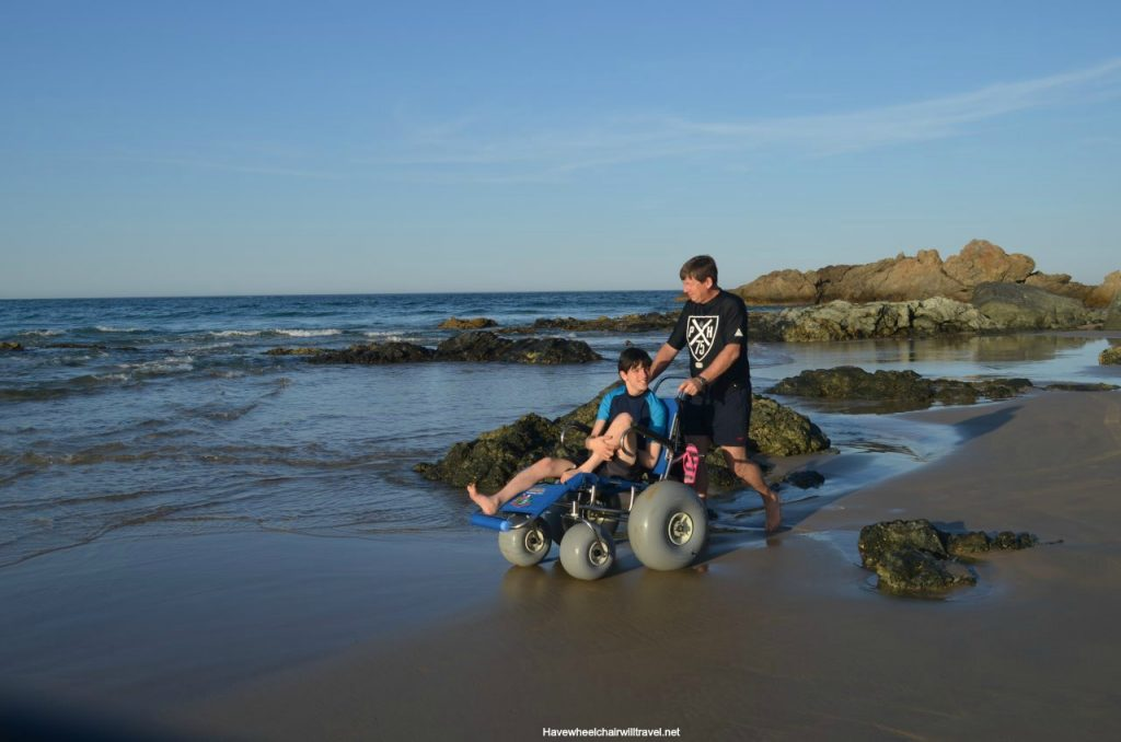 DIY Beach Wheelchair