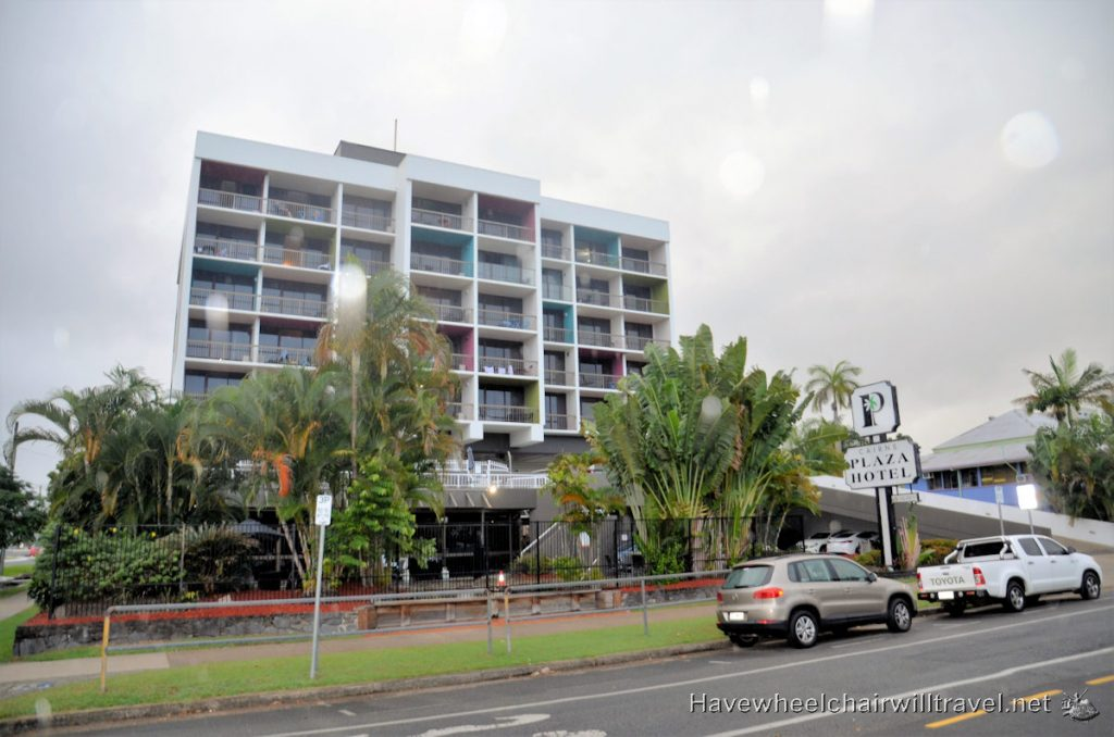 Cairns Plaza Hotel - wheelchair accessible accommodation Cairns