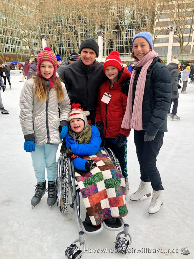 Bryant Park Skating - Have Wheelchair Will Travel