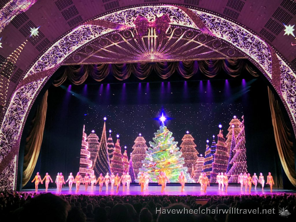 Radio City Music Hall Rockettes - Have Wheelchair Will Travel