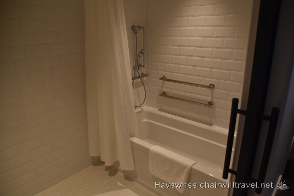 Virgin Hotel San Francisco - accessible accommodation San Francisco - Have Wheelchair Will Travel