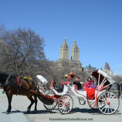Wheelchair Hire York Best Cheap Computer Chair Central Park - Part One Carriage Ride Have Will Travel