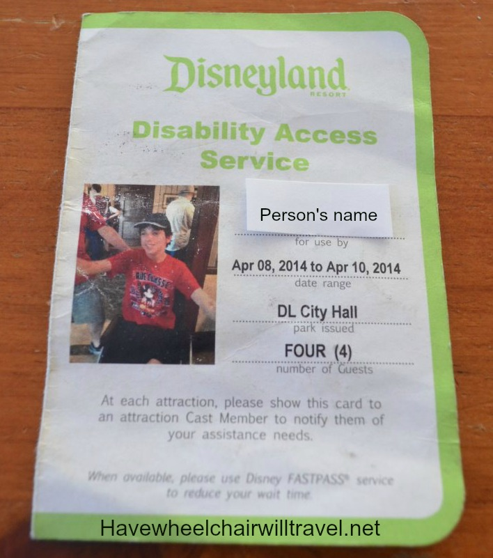 Disability Access Service pass2