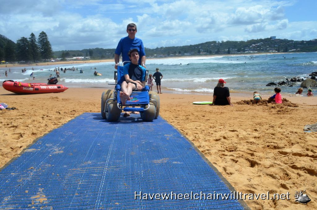 Avoca Beach, access for all.