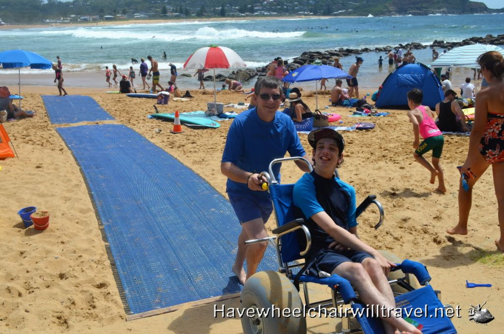 Avoca Beach - access for all.