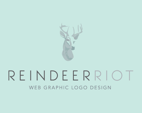 Reindeer Riot Web and Graphic Design Byron Bay