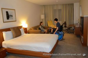 NOVOTEL CANBERRA – ACCESSIBLE ACCOMMODATION