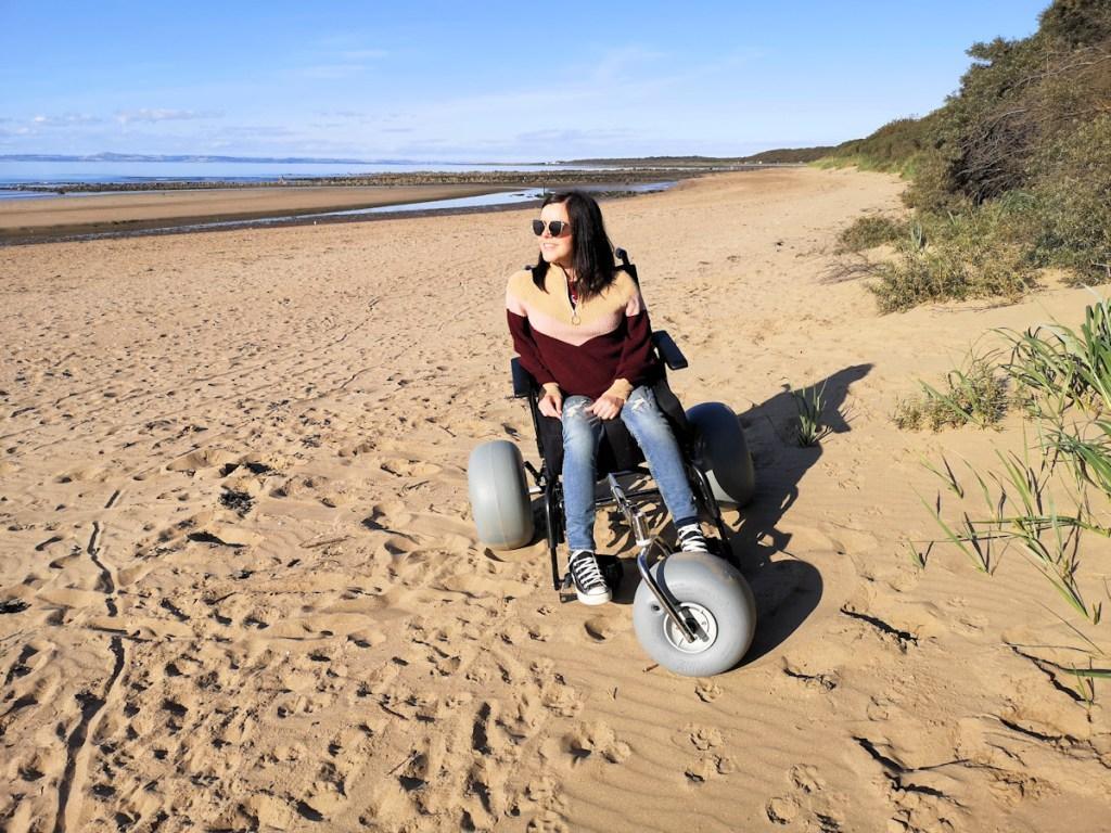 Beachwheels conversion kit - image credit www.simplyemma.co.uk