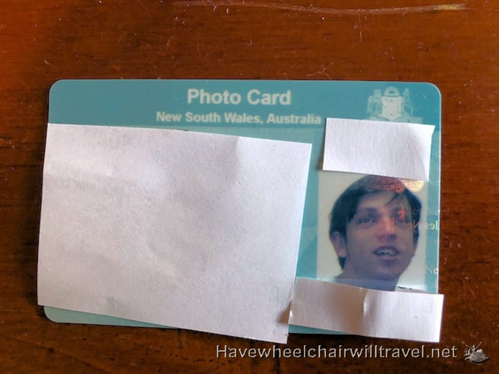 Applying for a passport for someone with a disability