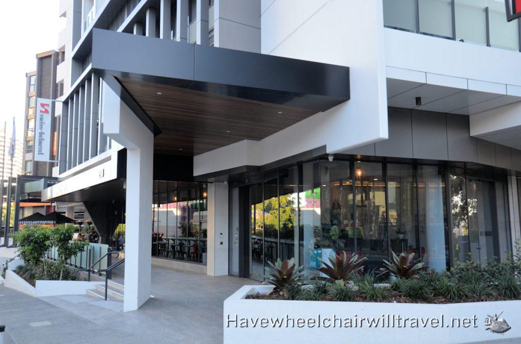 Swiss-Belhotel wheelchair accessible accommodation Brisbane