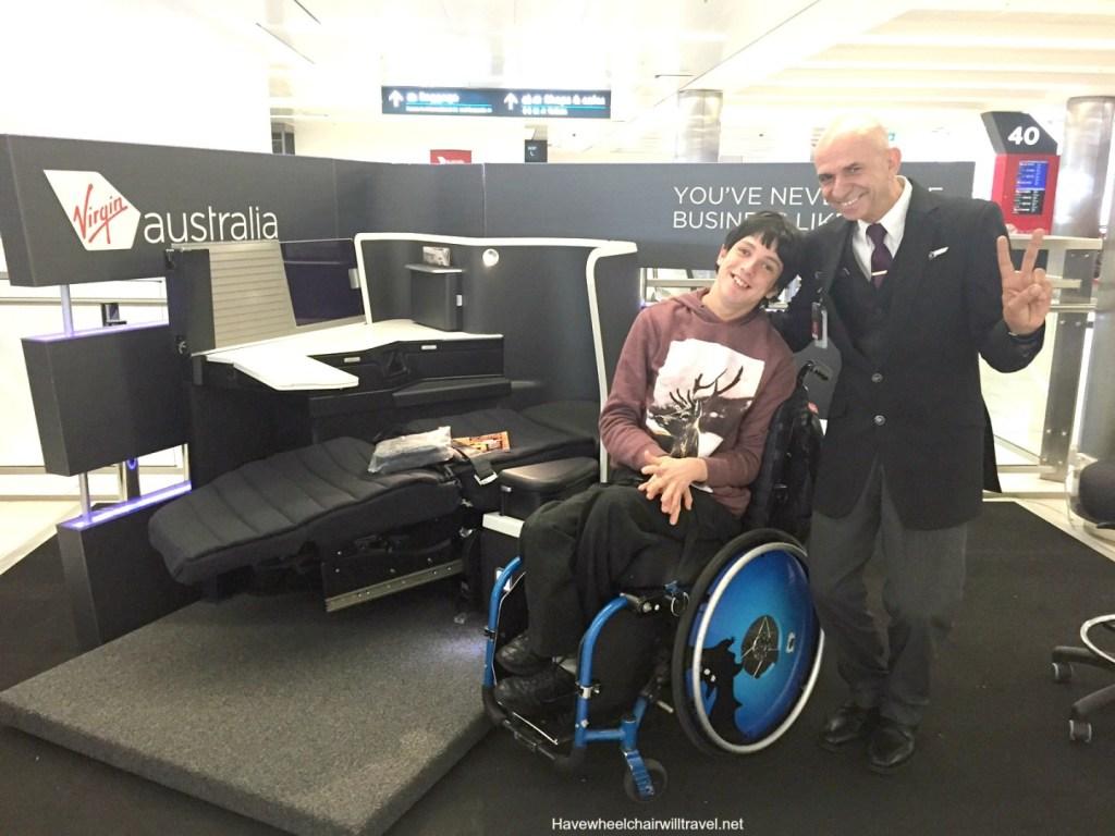 Virgin Australia Disability Assistant Concession Fare